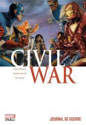 Civil war t.4 ; journal de guerre - Couverture - Format classique