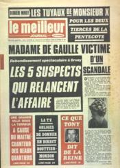 Meilleur Journal (Le) N°89 du 20/05/1972 - Couverture - Format classique
