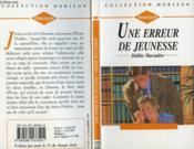 Une Erreur De Jeunesse - Ready For Romance - Couverture - Format classique