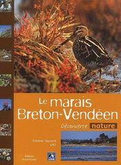 Le marais breton-vendéen - Couverture - Format classique