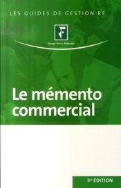 Le mémento commercial (5e édition) - Intérieur - Format classique