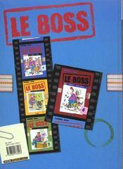 Le Boss T.5 ; Signez Ici - 4ème de couverture - Format classique