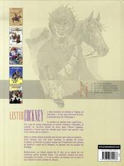 Lester cockney ; intégrale t.1 ; t.1 à t.5 - 4ème de couverture - Format classique