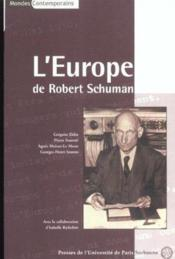 Robert Schuman - Couverture - Format classique