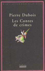 Les contes de crimes - Intérieur - Format classique