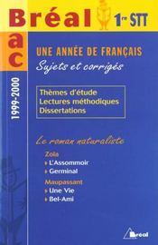 Francais ; premiere stt - Intérieur - Format classique