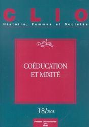 Coeducation Et Mixite Revue Clio N18 - Intérieur - Format classique