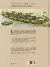 Voyage chez les empereurs romains - 4ème de couverture - Format classique