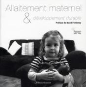 Allaitement maternel et développement durable - Couverture - Format classique