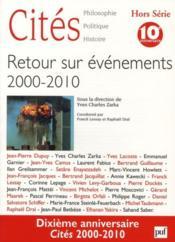 Revue Cites T.Hs ; Retour Sur Evénements 2000-2010 - Couverture - Format classique