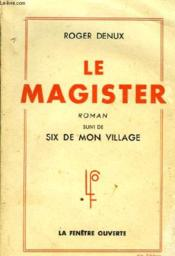 Le Magister - Couverture - Format classique