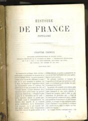Histoire De France Populaire. - Couverture - Format classique