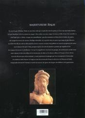 Italie - 4ème de couverture - Format classique