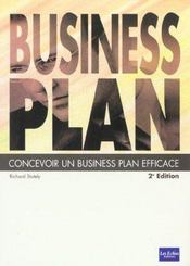 Business Plan. Concevoir Un Business Plan Efficace - Intérieur - Format classique