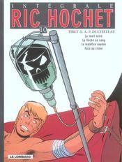 Ric Hochet ; intégrale t.10 - Intérieur - Format classique