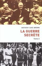 La Guerre Secrete T.2 - Intérieur - Format classique