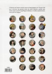 Où sont les grands héros de l'histoire de France ? - 4ème de couverture - Format classique