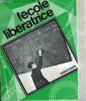 L Ecole Liberatrice Debutants Supplement N°1 - Couverture - Format classique