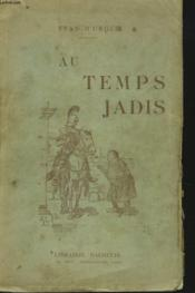 Au Temps Jadis - Couverture - Format classique