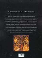 Iles De La Mediterranee - 4ème de couverture - Format classique