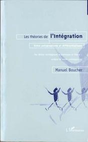 Les Theories De L'Integration - Intérieur - Format classique