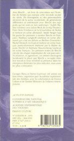 Apprendre- T11, Avec Brecht - 4ème de couverture - Format classique