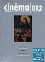 Revue Cinema N.12 ; Cinéma N.12 - Intérieur - Format classique