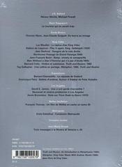 Revue Cinema N.12 ; Cinéma N.12 - 4ème de couverture - Format classique