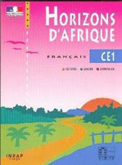 Horizons d'afrique francais ce1 - Couverture - Format classique