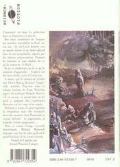 Les Rives Du Crepuscule - 4ème de couverture - Format classique