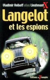 Langelot et les espions - Couverture - Format classique