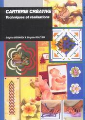 Carterie Decorative, Techniques Et Realisations - Intérieur - Format classique