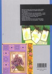 Carterie Decorative, Techniques Et Realisations - 4ème de couverture - Format classique