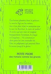 Profession Nain De Jardin - 4ème de couverture - Format classique