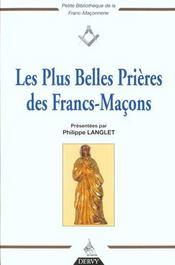 Les plus belles prieres des francs-macons - Intérieur - Format classique