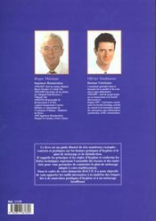 Bonnes pratiques d'hygienes et plans de nettoyage - 4ème de couverture - Format classique