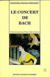 Le Concert De Bach - Couverture - Format classique