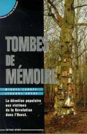 Tombes de memoire - Couverture - Format classique