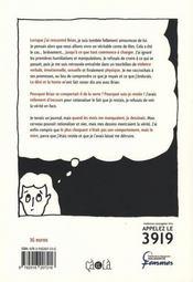 Dans les sables mouvants ; une histoire de violence conjugale - 4ème de couverture - Format classique
