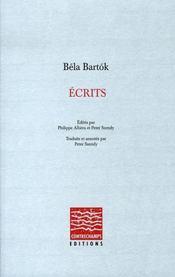 Écrits - Intérieur - Format classique