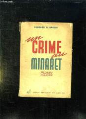 Un Crime Au Minaret. - Couverture - Format classique