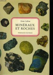 Mineraux Et Roches - Couverture - Format classique