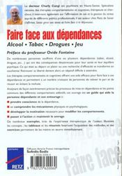 Faire Face Aux Dependances - 4ème de couverture - Format classique