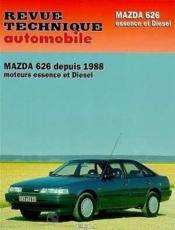 Rta 528.2 Mazda 626 Essence Et Diesel (88-91) - Couverture - Format classique