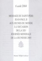 Message Jmj 2005 - Couverture - Format classique