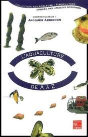 L'aquaculture de A à Z - Couverture - Format classique