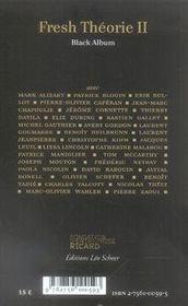 Fresh Theorie T.2 - 4ème de couverture - Format classique