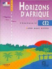 Horizons d'afrique francais ce2 - Couverture - Format classique