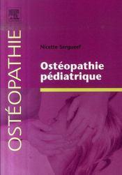Ostéopathie pédiatrique - Intérieur - Format classique