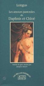 Amours pastorales de daphnis et chloe - Couverture - Format classique